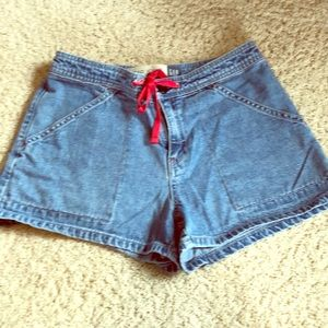 "Gap denim shorts, size 2, 2"" inseam"